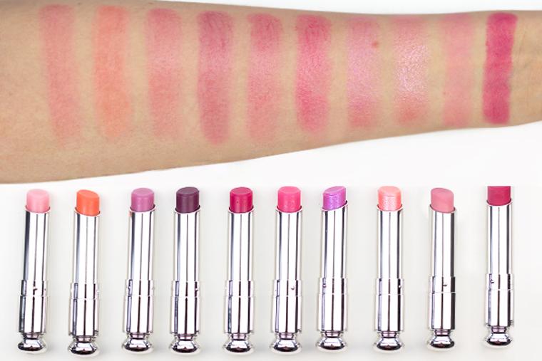 Dior Addict Lip Glow - một trong những dòng son Dior hot nhất