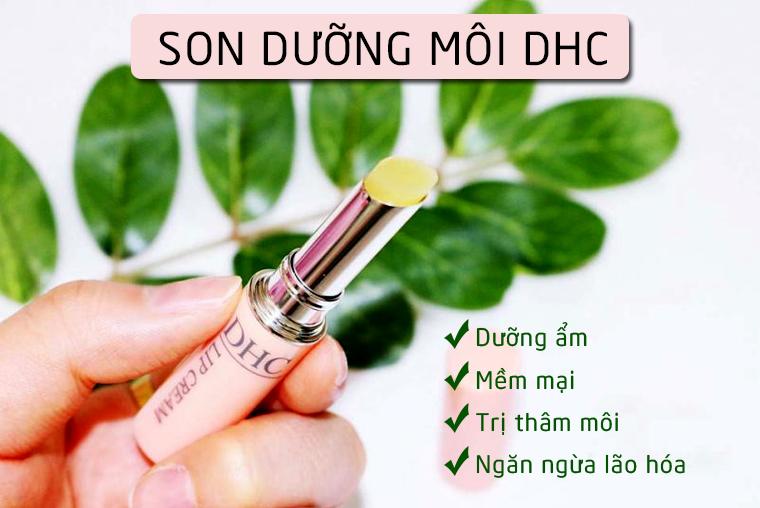 Son dưỡng DHC dưỡng ẩm và chống lão hóa hiệu quả