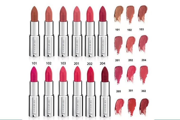 Son dưỡng Givenchy đa dạng màu sắc cho chị em lựa chọn