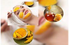 Cách làm mặt nạ tinh bột nghệ mật ong