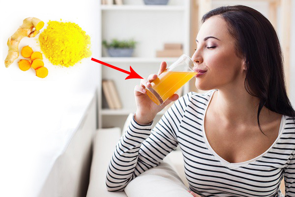 Uống tinh bột nghệ mỗi ngày giúp trị đau dạ dày