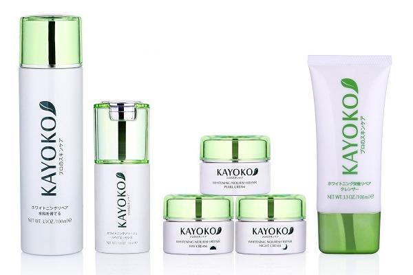 Bộ mỹ phẩm dưỡng da và trị nám Kayoko của Nhật Bản