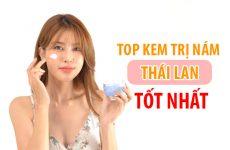 Các loại kem trị nám của Thái Lan đều rất hiệu quả, và giá thành cũng rẻ hơn bên Hàn và Nhật bản rất nhiều