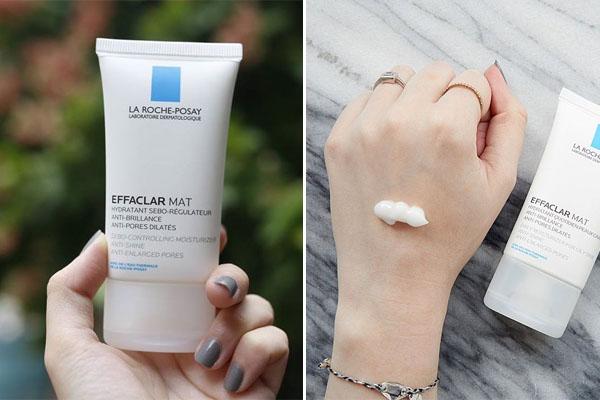 Kem dưỡng da La Roche-Posay - Efaclar Mat là kem dưỡng da cho da dầu, với chất kem mỏng nhẹ, matte dễ dàng thẩm thấu vào da, cân bằng độ ẩm, kiềm dầu