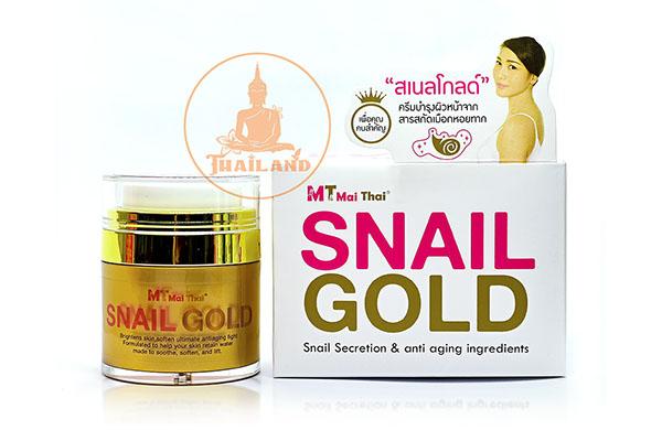 Kem dưỡng trắng da chống lão hóa da MT Mai Thai Snail Gold phục hồi làn da của bạn rạng rỡ hồng hào trẻ trung, làm giảm các vết nhăn, giúp da săn chắc