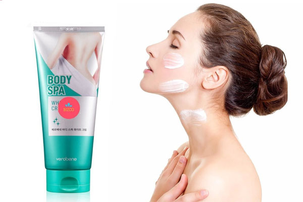 Kem dưỡng trắng toàn thân Verobene body spa
