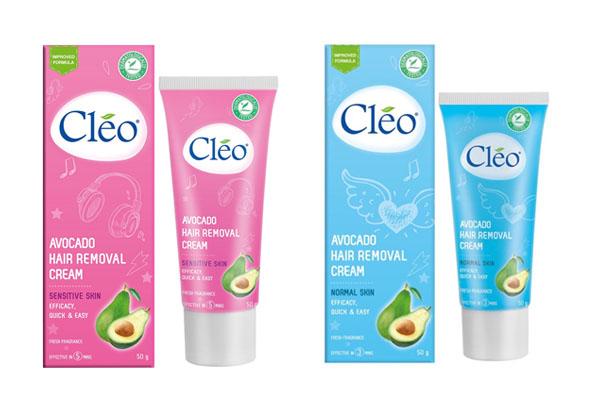 Kem tẩy lông Nách, chân, tay Cleo Avocado