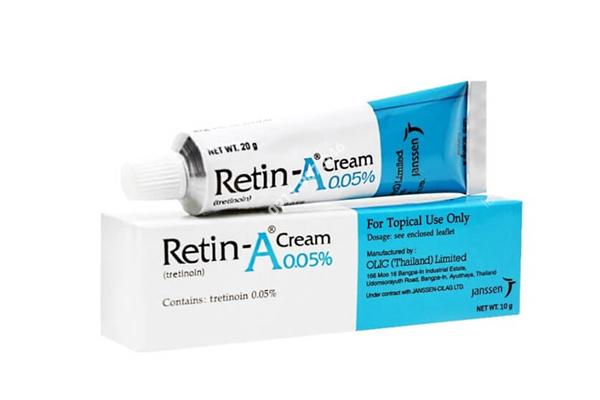 Kem trị mụn ẩn Retin A Cream