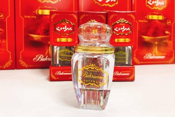 Nhụy hoa nghệ tây Iran thương hiệu Bahraman