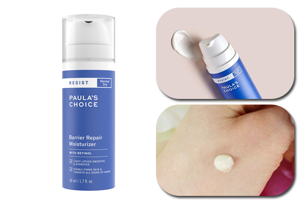 Paula's Choice Resist Barrier Repair Moisturizer with Retinol là dòng kem dưỡng ẩm ban đêm dành cho da thường đến da khô