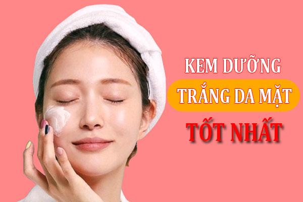 Sử dụng kem dưỡng hằng ngày giúp bạn có một làn da trắng sáng mịn màng