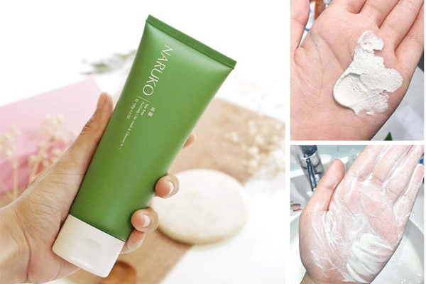 Sữa rửa mặt Naruko Tea Purifying Clay Mask And Cleanser