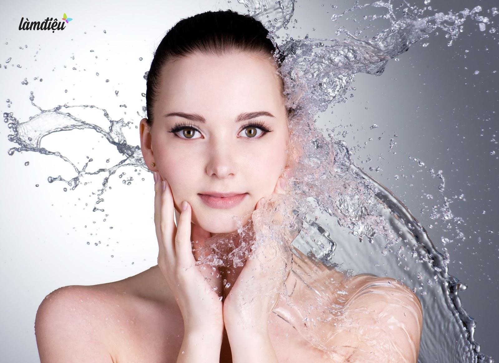 Một số lưu ý khi rửa mặt giúp da trắng sạch