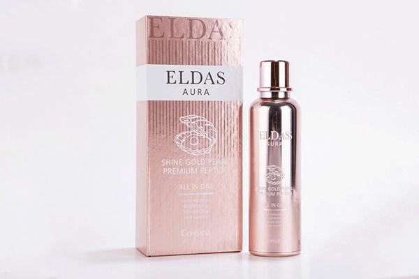 Serum Eldas Aura loại Shine Gold Pearl Premium Peptide