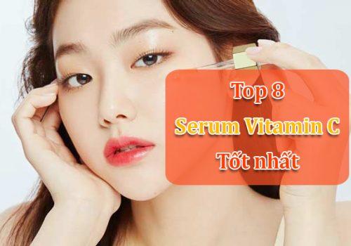 Sử dụng Serum vitamin C thường xuyên giúp làm mờ sắc tố melanin, vết thâm, nám, tàn nhang và giúp da trắng sáng