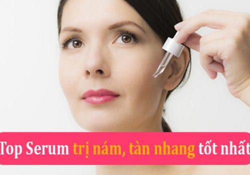 Sử dụng serum là phương pháp trị nám tàn nhang hiệu quả nhất