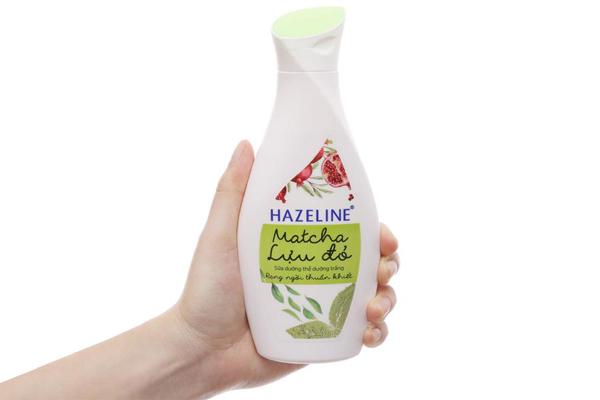 Sữa dưỡng thể trắng da Hazeline