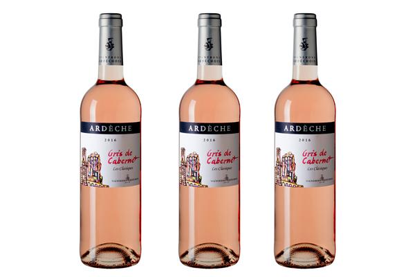Rượu vang hồng Gris de Cabernet Rose Ardeche
