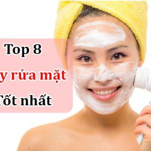 Sử dụng máy rửa mặt có thể giúp làm sạch bụi bẩn trên mặt mà rửa mặt thông thường không thể làm được