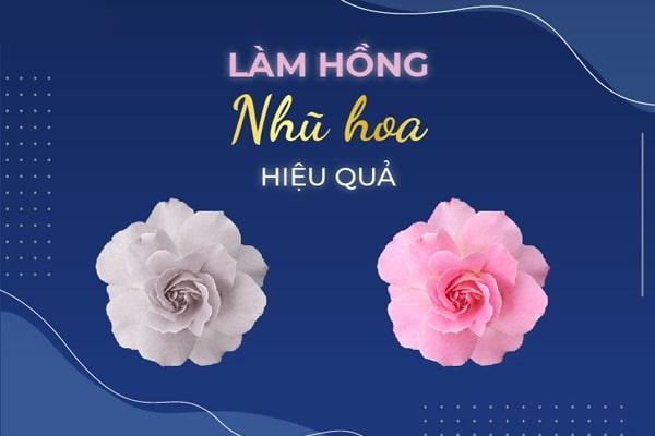 Su dung kem lam hong nhu hoa la phuong phap don gian va tien loi ma hieu qua van rat nhanh chong