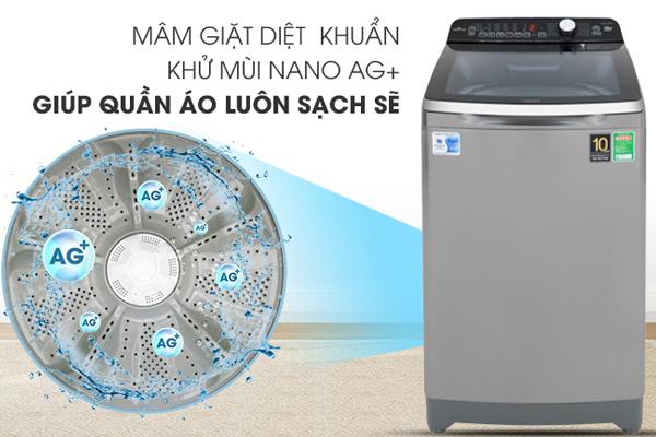 May giat Aqua Inverter 10 Kg AQW DR100ET